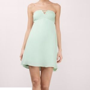 ff2627d62a7 Tobi Dresses - Tobi Mint Green Strappy Low Back Summer Dress